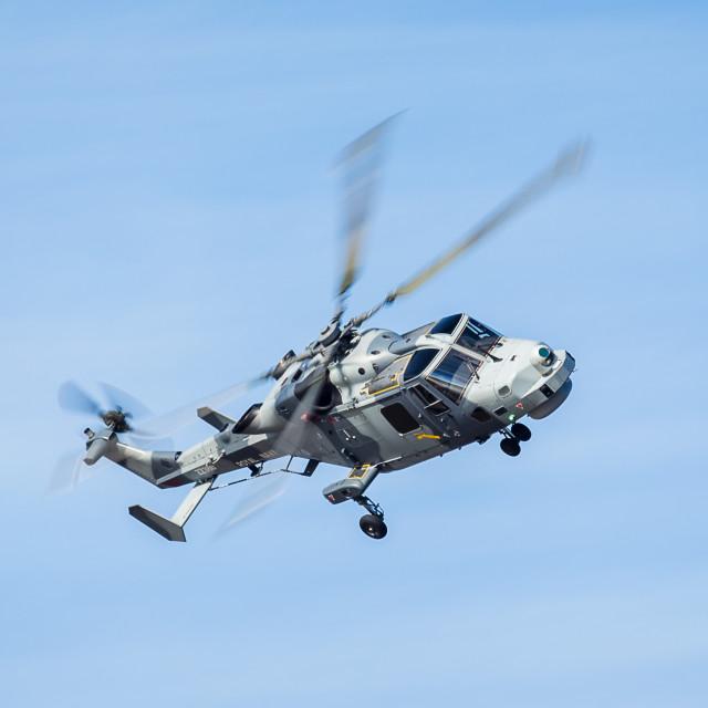 """Royal Navy Wildcat"" stock image"