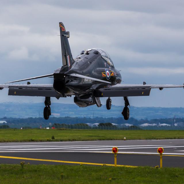 """Hawk T2 landing"" stock image"