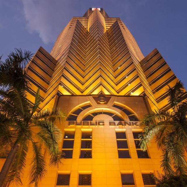 """Public Bank Berhad Tower"" stock image"