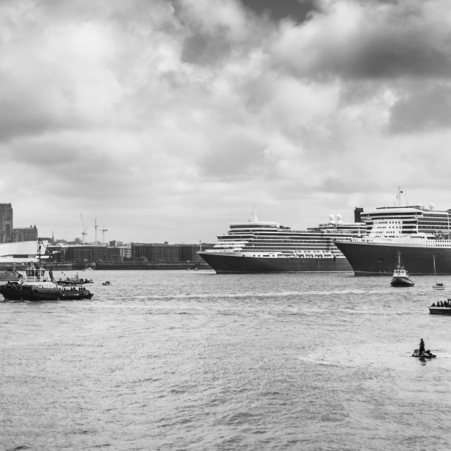 """""""Mono of the Three Queens in formation."""" stock image"""
