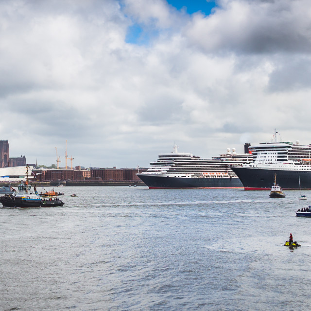 """""""Three Queens in close formation."""" stock image"""