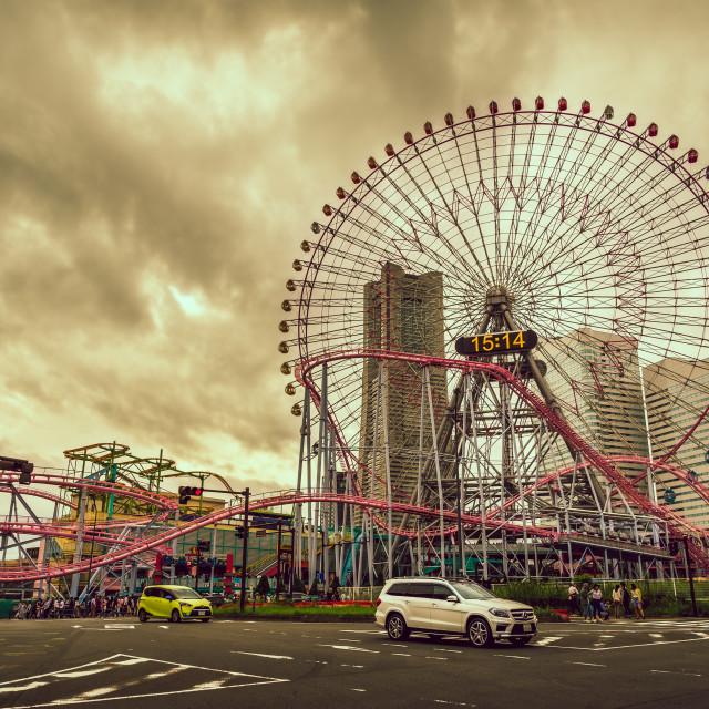 """Yokohama Theme Park"" stock image"