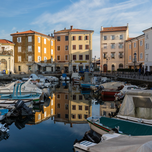 """Muggia, Italy"" stock image"