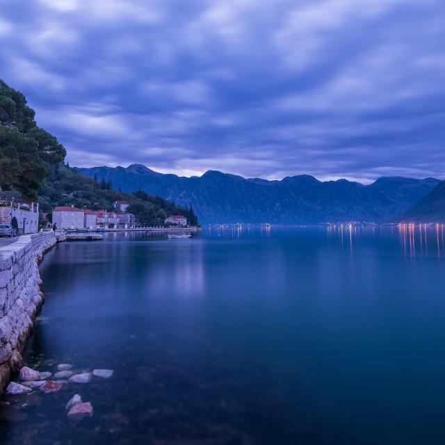 """""""Kotor Panorama , Montenegro"""" stock image"""