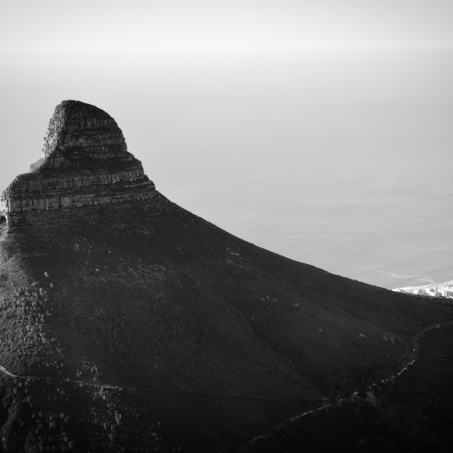 """Table Mountain Cape Town South Africa"" stock image"