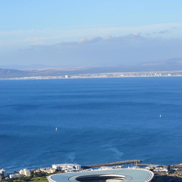 """""""Cape Town Stadium"""" stock image"""
