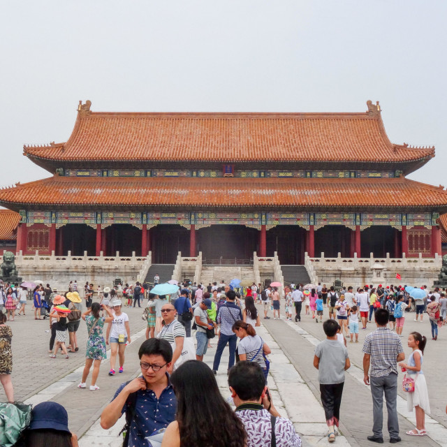 """Forbidden City"" stock image"