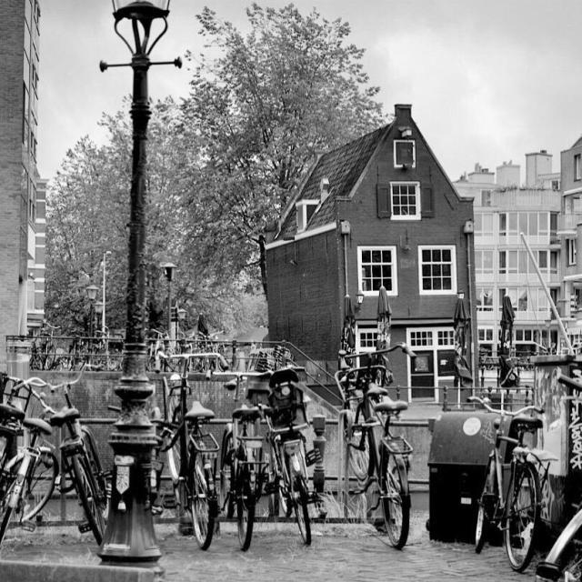 """""""Bikes in Amsterdam"""" stock image"""