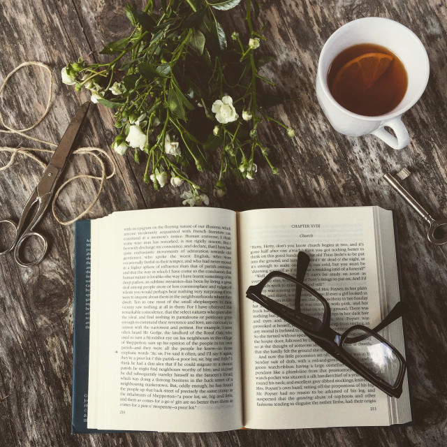 """Afternoon tea"" stock image"