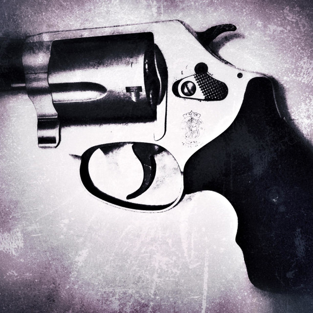 """.38 Special Pistol"" stock image"