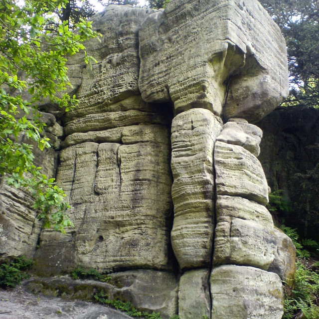 """""""Interesting Rock Structure 6"""" stock image"""