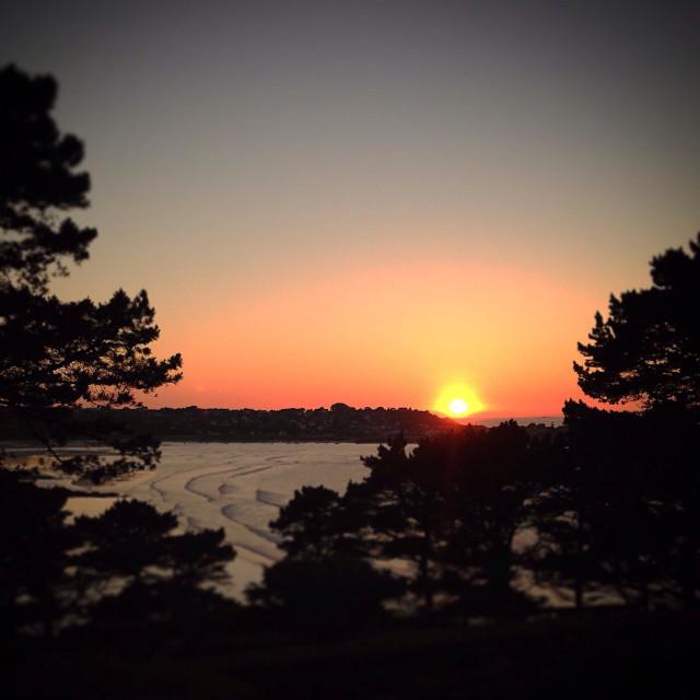 """Peaceful Sunset"" stock image"