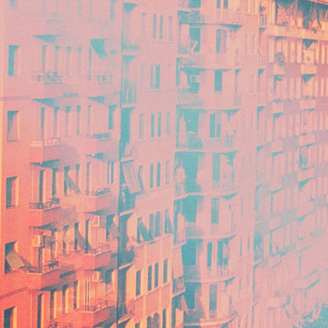 """Urban haze"" stock image"