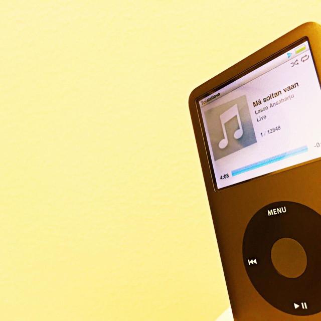 """iPod Classic"" stock image"