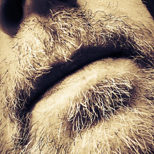 """Beardy Man"" stock image"