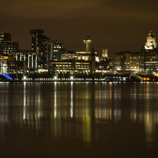 """""""Liverpool Waterfront"""" stock image"""
