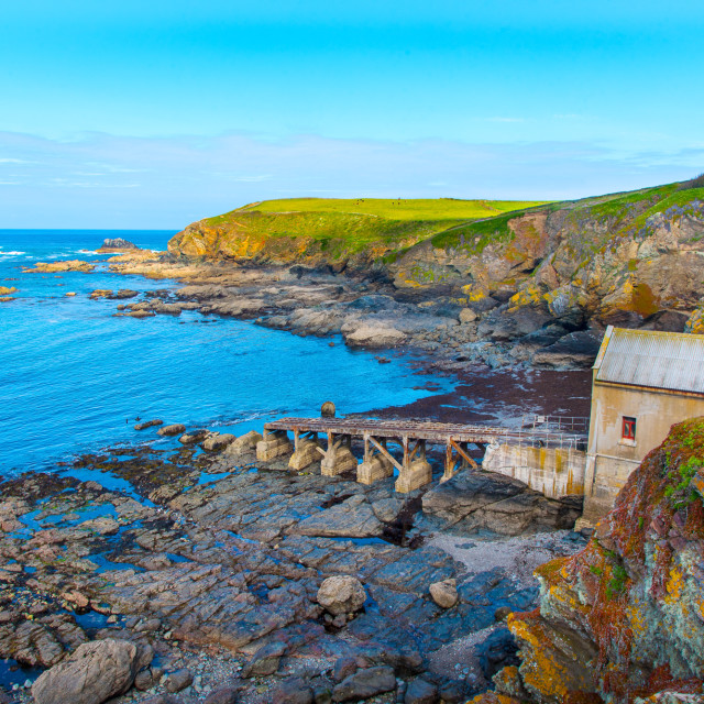 """Old Lifeboat Station"" stock image"