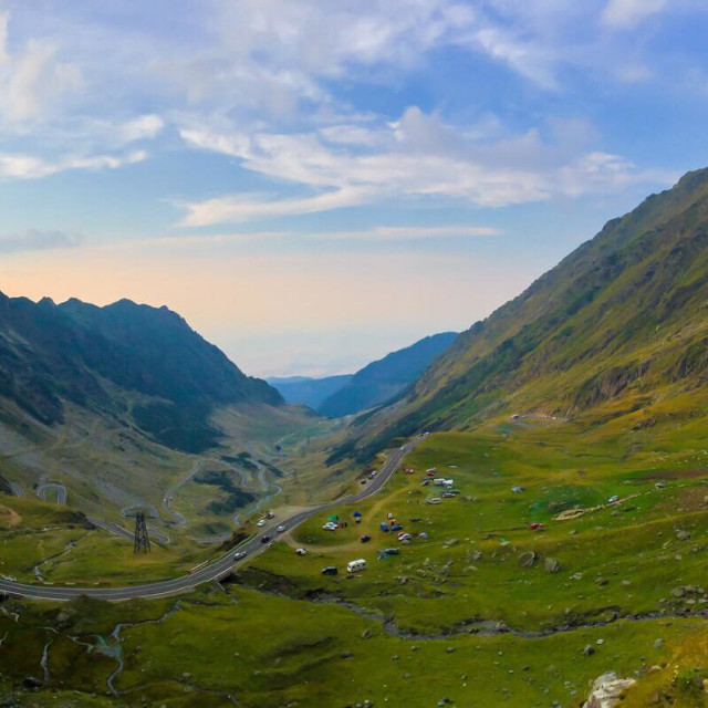 """""""Road in the mountains"""" stock image"""