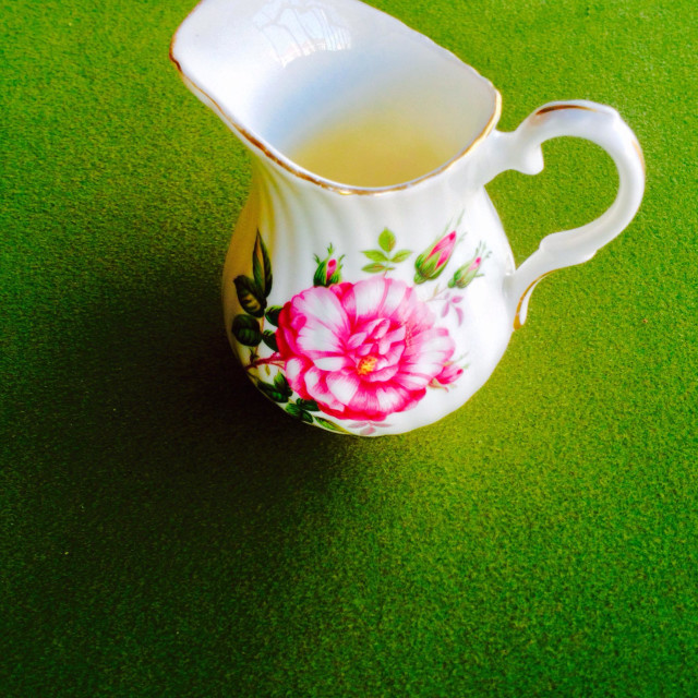 """Small cream or milk jug"" stock image"