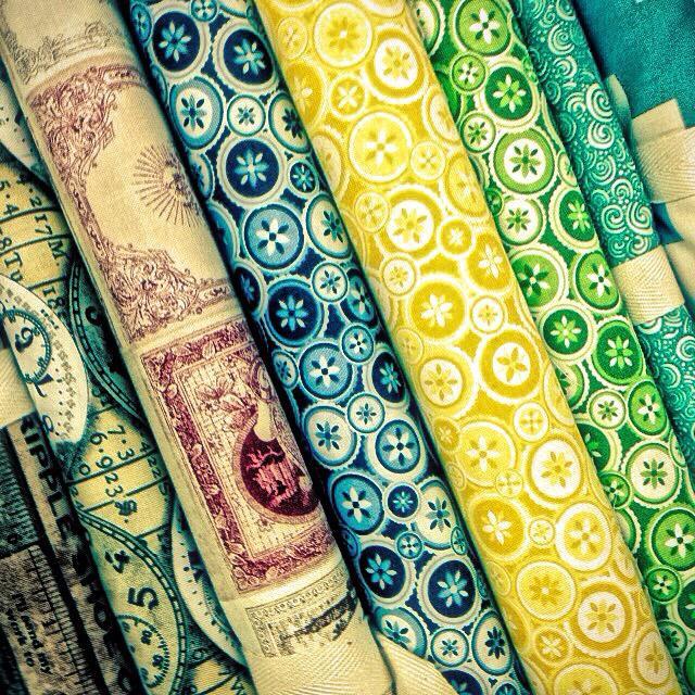 """Textiles Samples"" stock image"