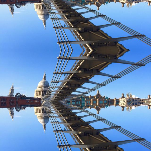 """Abstract Millennium London"" stock image"
