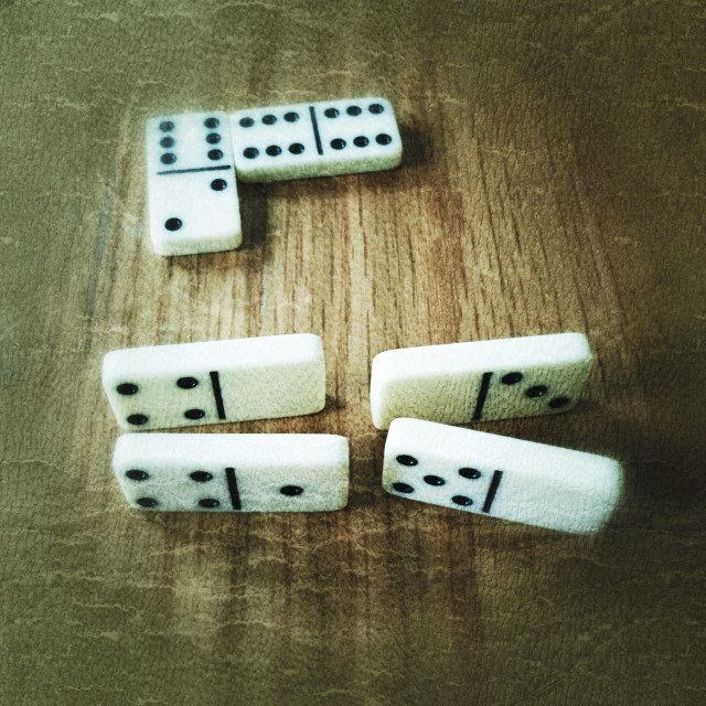 """Dominos"" stock image"