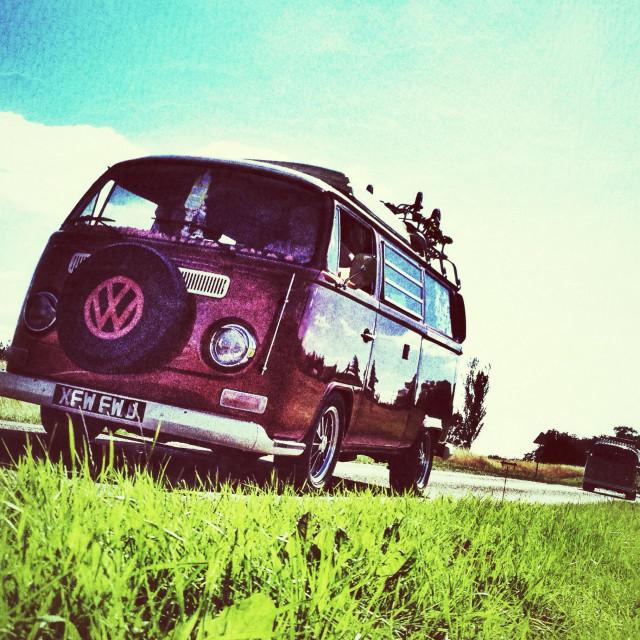 """VW campervan"" stock image"