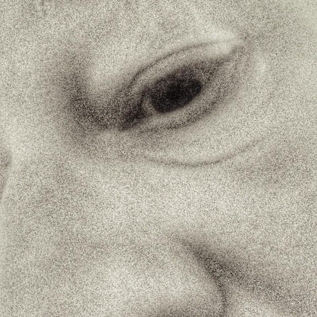 """""""Close up of a mans face"""" stock image"""