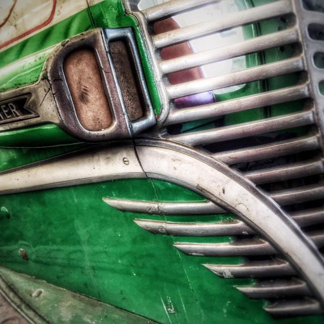 """Vintage Bumper Car"" stock image"