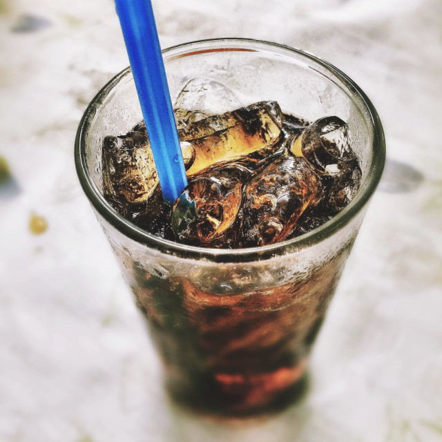 """""""Refresher from Soft drink"""" stock image"""