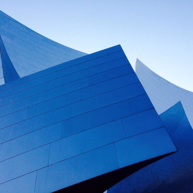 """Walt Disney Concert Hall in Los Angeles"" stock image"