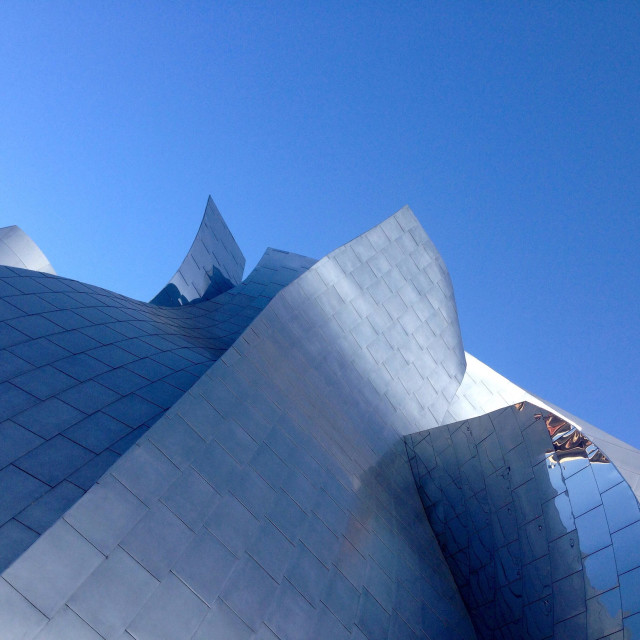 """Walt Disney Concert Hall"" stock image"