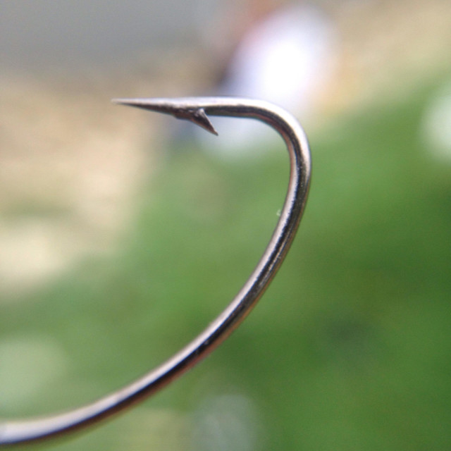 """Deadly fish hook"" stock image"