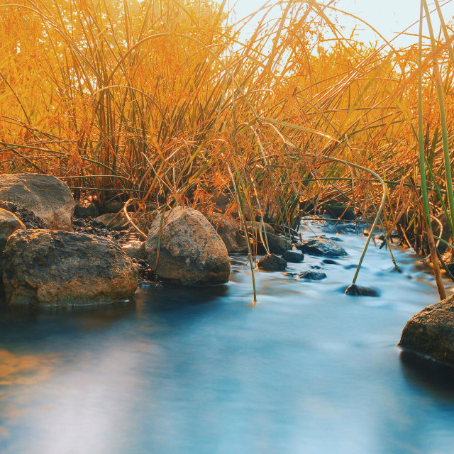 """""""Long Exposure shot from an iPhone 6 with slowshutter app"""" stock image"""