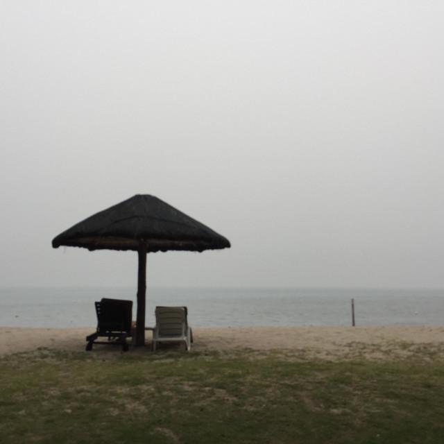 """Daily haze."" stock image"