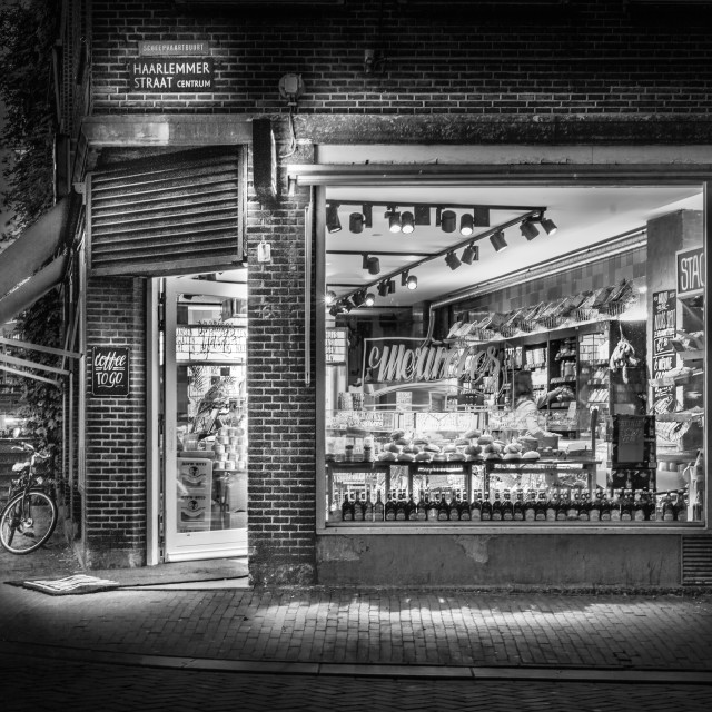 """Amsterdam Bakery"" stock image"
