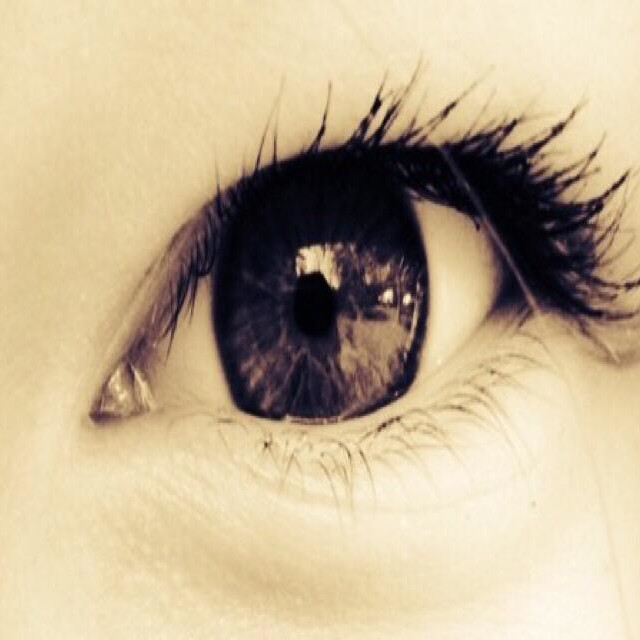 """""""Close up of woman's eye"""" stock image"""