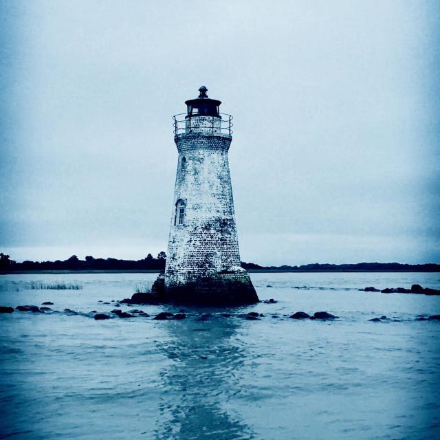 """""""Old abandoned lighthouse"""" stock image"""