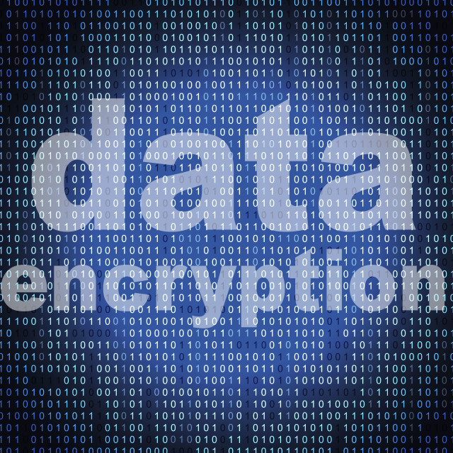 """Data Encryption Represents Cryptography Protect And Login"" stock image"
