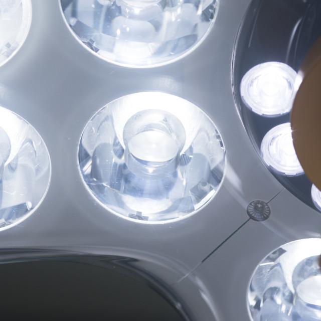 """Operating room surgery light"" stock image"