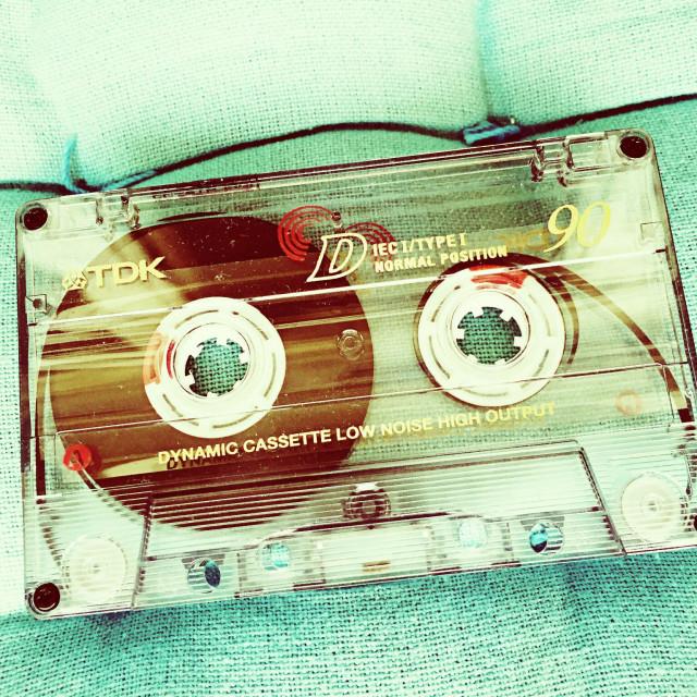 """C Cassette"" stock image"