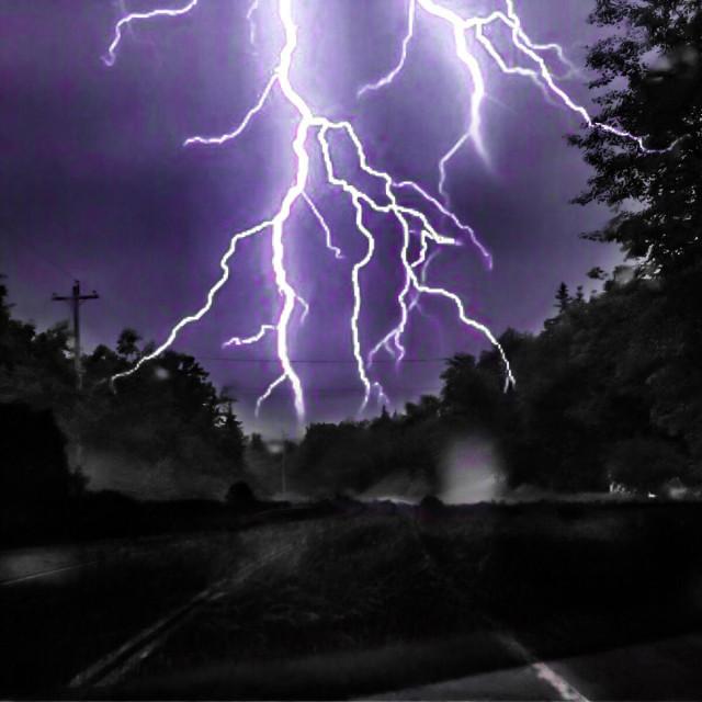 """""""Stormy night"""" stock image"""