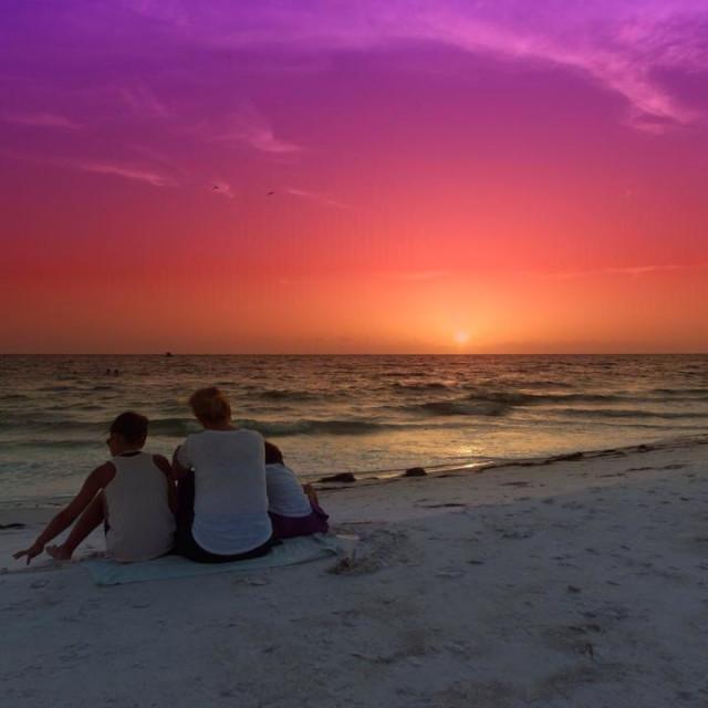 """Siesta Key, Florida"" stock image"