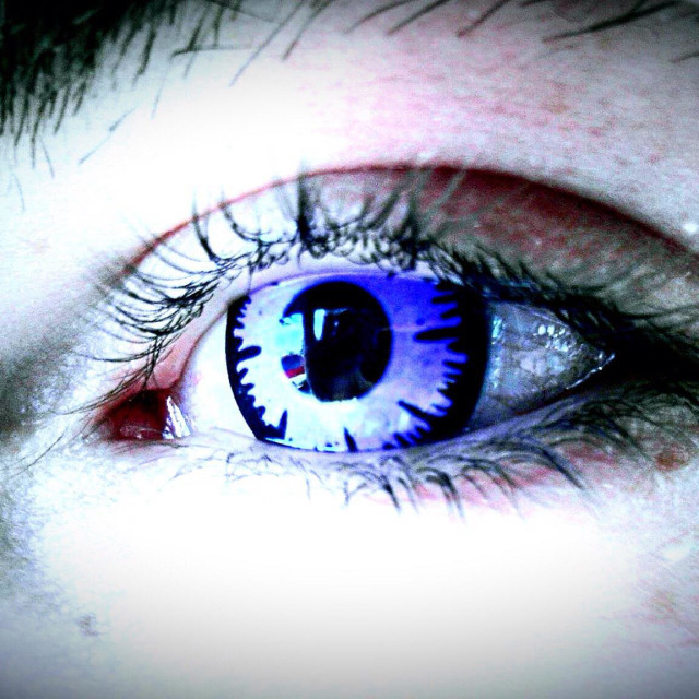 """Eye Spy With My Weird Looking Eye..."" stock image"