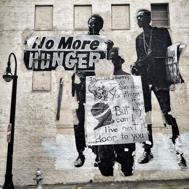 """""""No more hunger"""" stock image"""