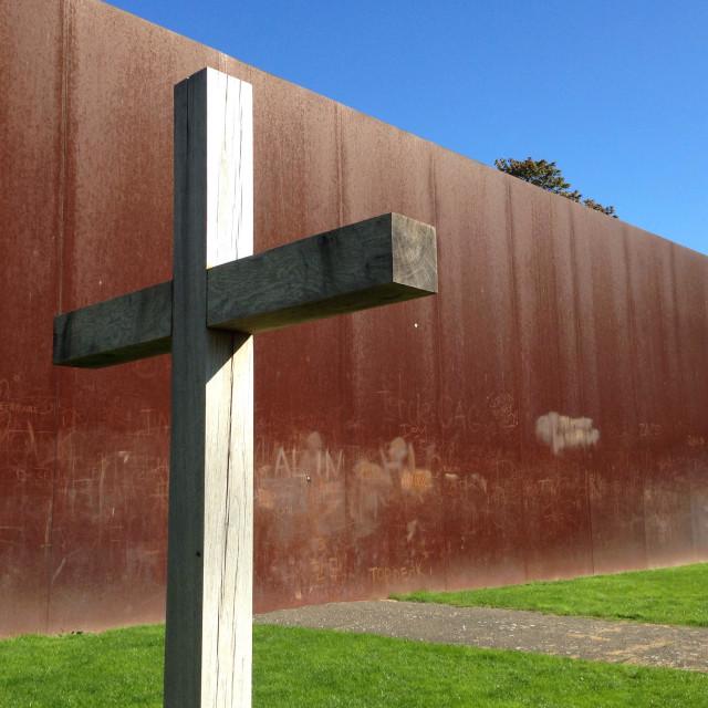 """Berlin Wall Memorial Germany"" stock image"