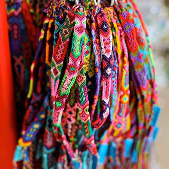 """""""Bracelets in Mexico"""" stock image"""