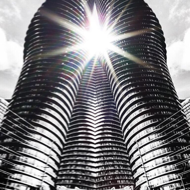 """Curvy. Architecture"" stock image"