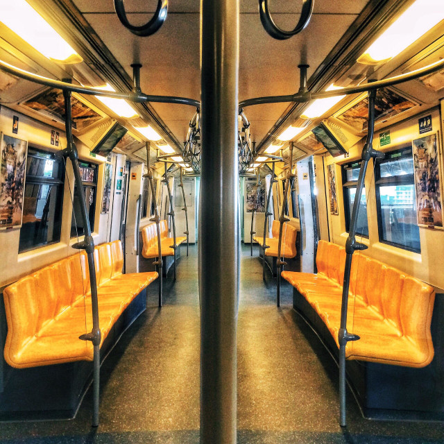 """Bangkok BTS Skytrain mass transportation system, Thailand"" stock image"