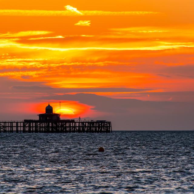 """""""Herne Bay Pier"""" stock image"""